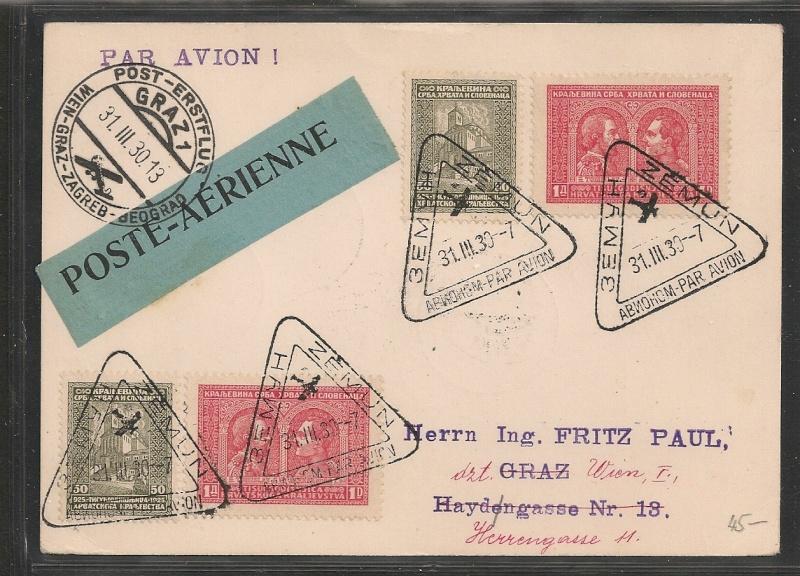 rwh's Luftpostsammlung Österreich erste Republik - Seite 2 Belgra10