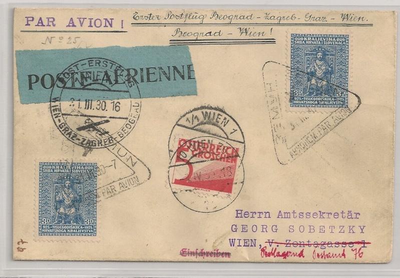 rwh's Luftpostsammlung Österreich erste Republik - Seite 2 Belgra11