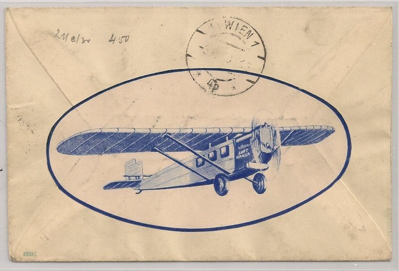 rwh's Luftpostsammlung Österreich erste Republik - Seite 2 Belgra12