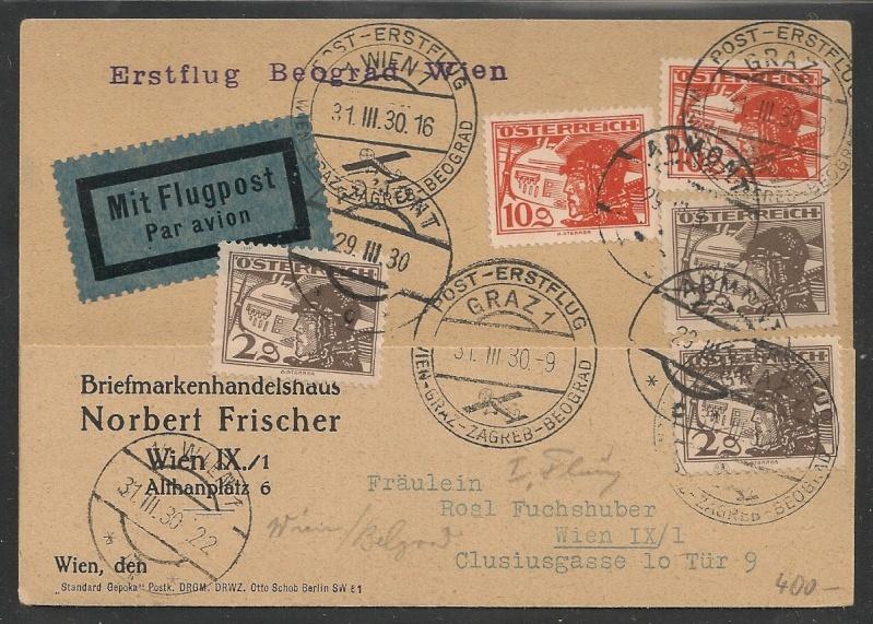 rwh's Luftpostsammlung Österreich erste Republik - Seite 2 Graz_w11