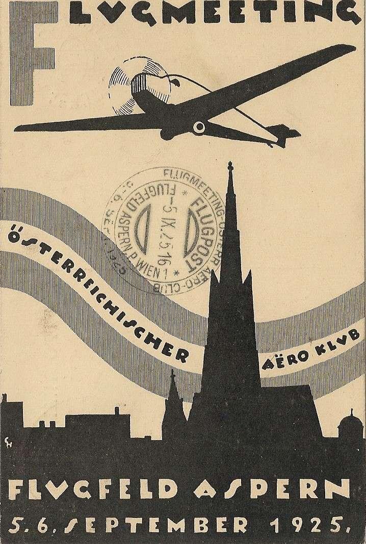 rwh's Luftpostsammlung Österreich erste Republik Scanne23