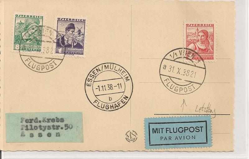 Ältere Flugpost aus Wien Scanne31