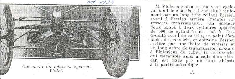 SIMA VIOLET cyclecar - Page 2 Violet11