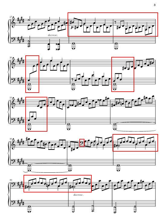 """La sonate """" au clair de lune """" de Beethoven Page310"""