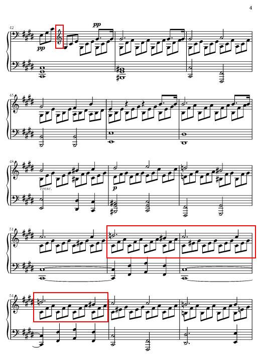 """La sonate """" au clair de lune """" de Beethoven Page410"""