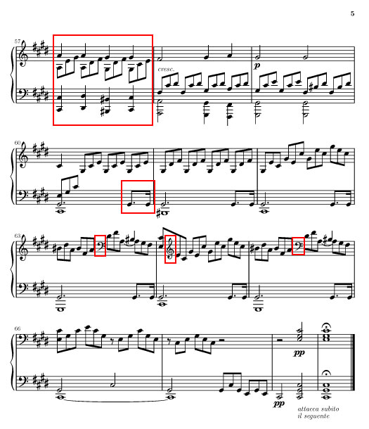 """La sonate """" au clair de lune """" de Beethoven Page510"""