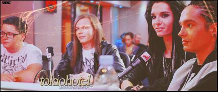 Tokio Hotel. Signat10