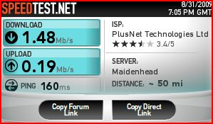 Post your internet speedtest here! Speed10