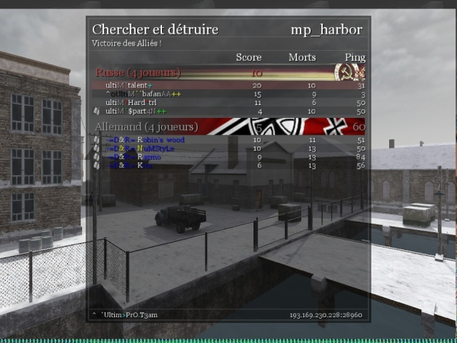 War Vs D&R WIN 30/12 Shot0113