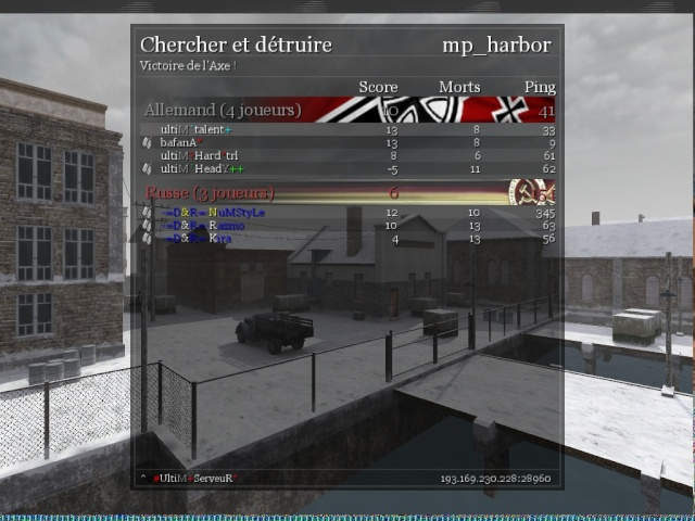 War Vs D&R WIN 30/12 Shot0114