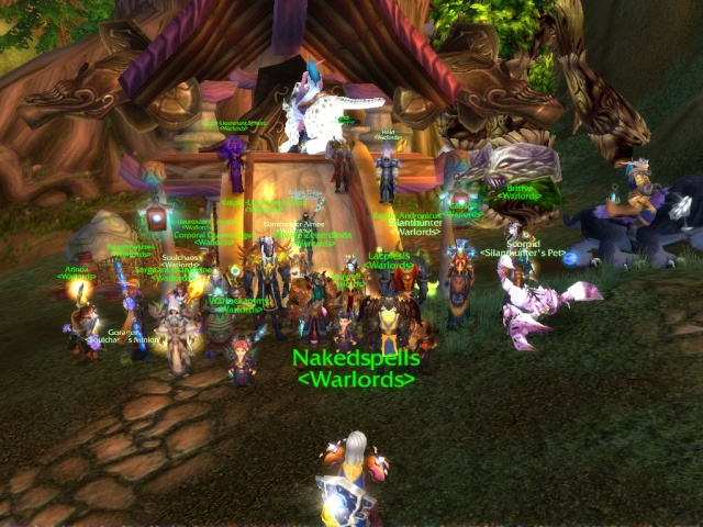 Warlords Defeated Archimonde in Hyjal Summit Wowscr21