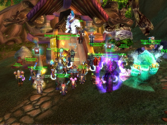 Warlords Defeated Archimonde in Hyjal Summit Wowscr22