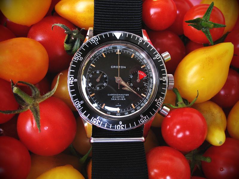 Le chronographe Croton Chronomaster Aviator Sea-diver : la montre à tout faire des années 60-70 Croton14