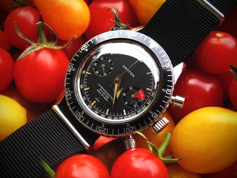 Le chronographe Croton Chronomaster Aviator Sea-diver : la montre à tout faire des années 60-70 Croton15