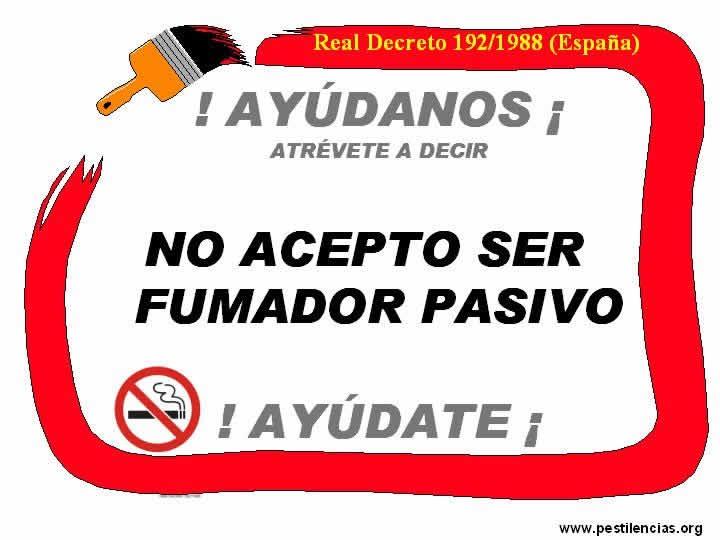 MANIFIESTO A FAVOR DE LA SALUD-DERECHO FUMADORES PASIVOS Atabac25