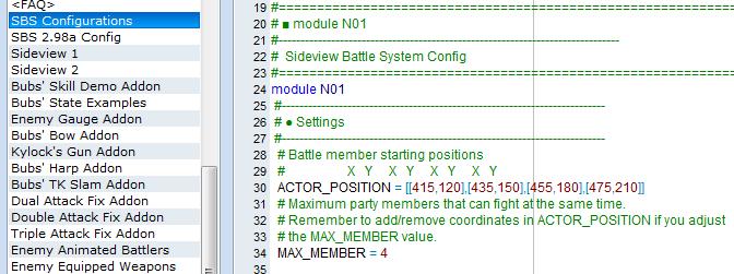 [résolu]Equipe de 4 ou plus avec Sbs Script11