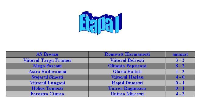 Liga a IV-a 2009/2010- etape 112