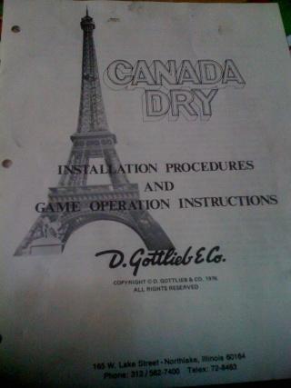 Gottlieb CANADA DRY - 1976 Img_0211