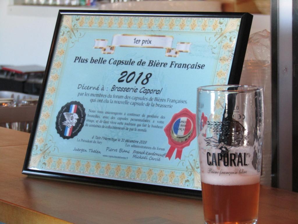 Remise du premier prix à brasserie Caporal 2020 (pour 2018) Img_5214