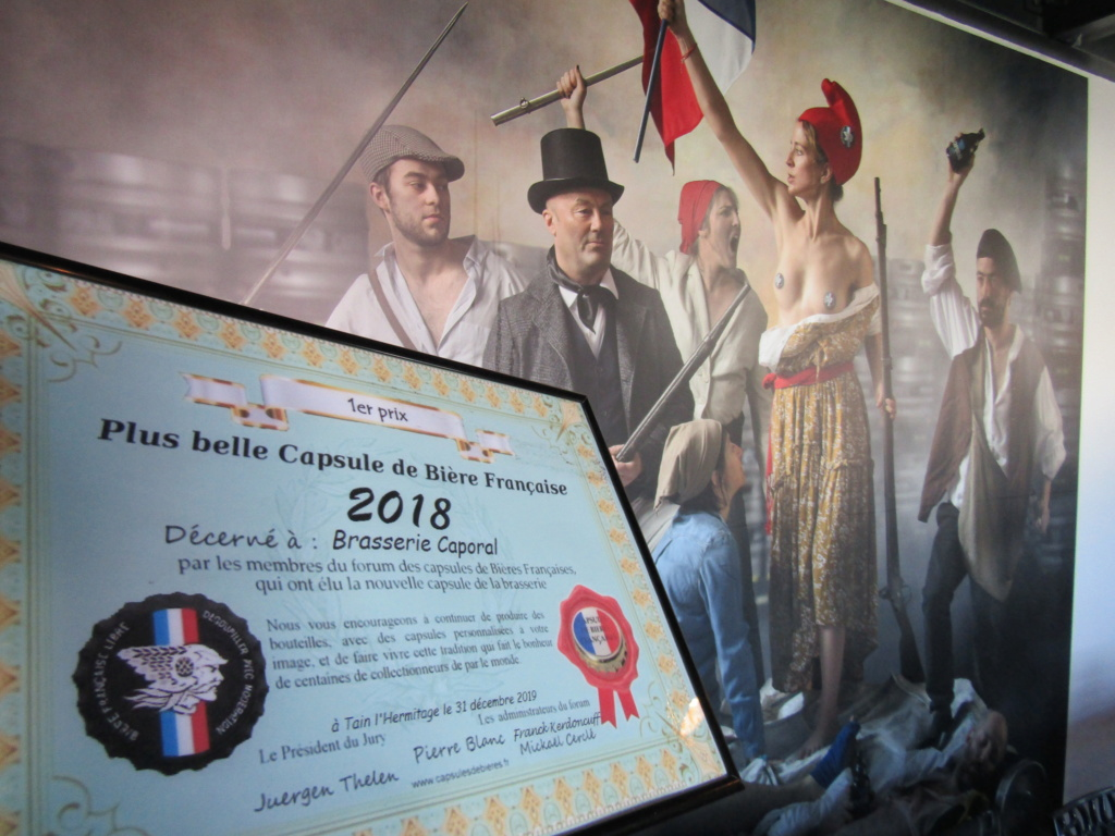 Remise du premier prix à brasserie Caporal 2020 (pour 2018) Img_5218