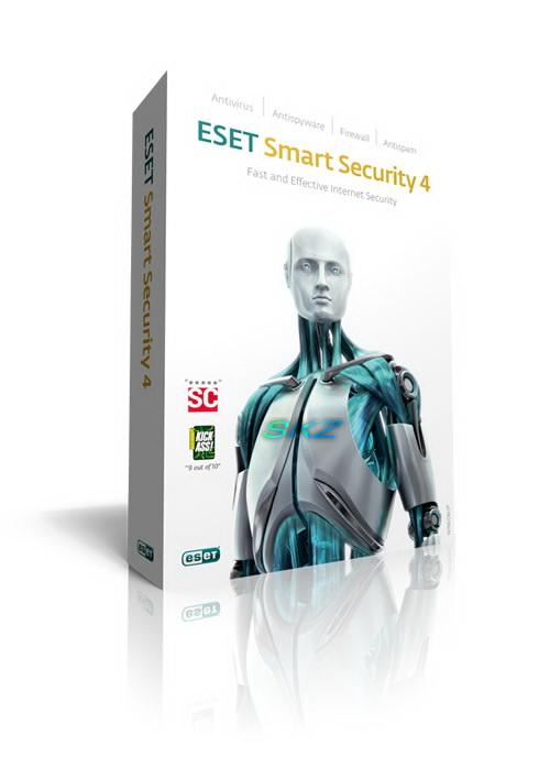 ESET Smart Security v4 + Serial Esetco10