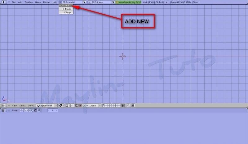 [Débutant]  [Blender 2.4 à 2.49] Personnalisation de Blender -Part 2 / l'ajout d'un écran 02_add10