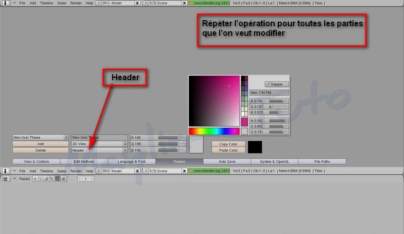 [Apprenti] [Blender 2.4 à 2.49] Personnalisation de Blender - Part 1 05_hea10