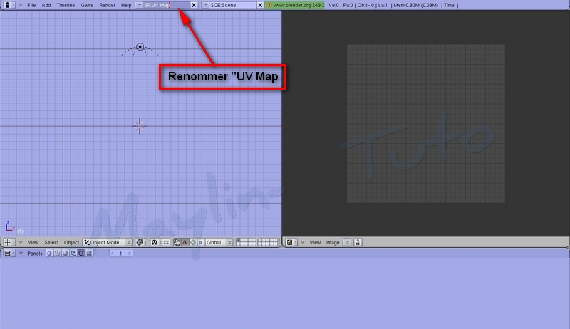[Débutant]  [Blender 2.4 à 2.49] Personnalisation de Blender -Part 2 / l'ajout d'un écran 05_ren11