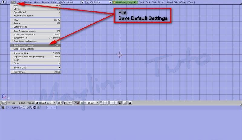 [Débutant]  [Blender 2.4 à 2.49] Personnalisation de Blender -Part 2 / l'ajout d'un écran 07_sav10