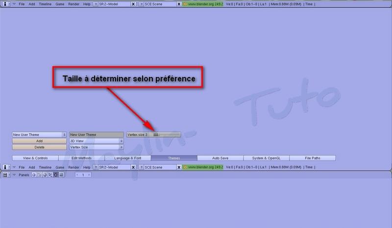 [Apprenti] [Blender 2.4 à 2.49] Personnalisation de Blender - Part 1 09_tai10