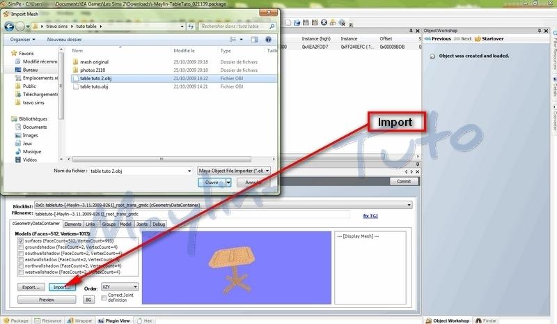 [Apprenti]  Création d'un objet avec SimPE 1312