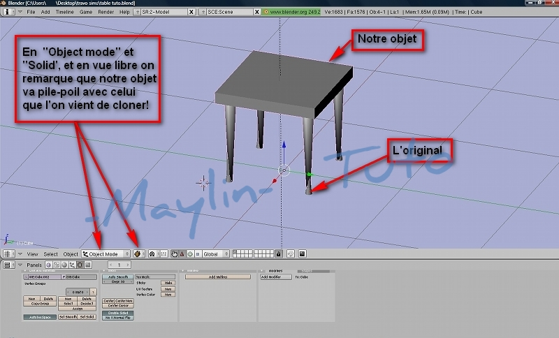 [Apprenti] [Blender 2.4 à 2.49] Adapter la table à l'objet original 1710