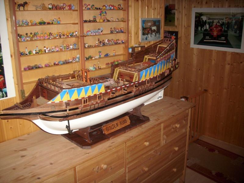 """Historische Segelschiffe  """"Golden Hind """" Dsci0153"""