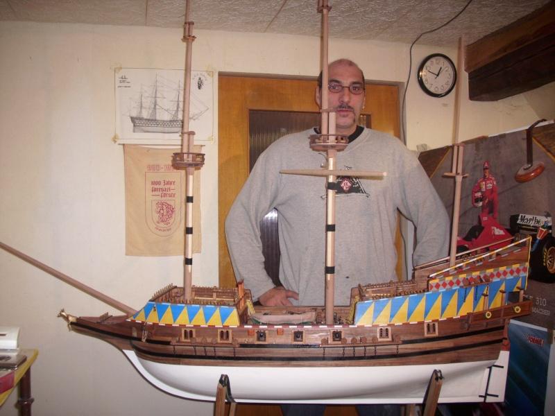 """Historische Segelschiffe  """"Golden Hind """" - Seite 2 Dsci0521"""