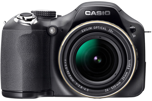 Casio stuffs backlit CMOS sensors in Exilim EX-FC150 and EX-FH25 superzoom Engnov10