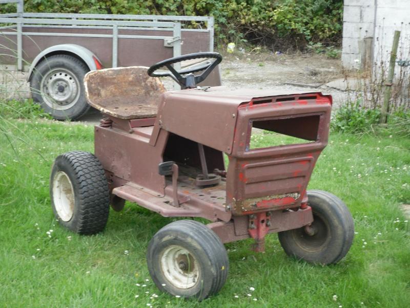 presentation de mon tracteur a l arrivee Peterb10