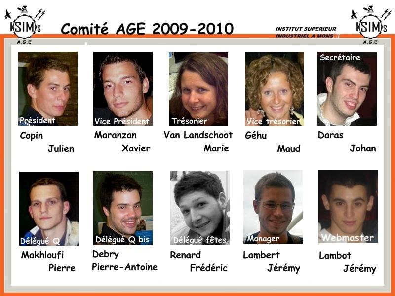 Comité A.G.E 2009-2010 Affich10