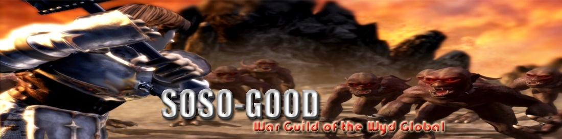 SOSO-GOOD-THE BEST GUILD,WYD 7.55,