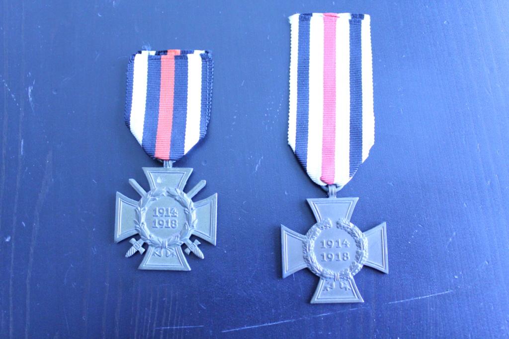 Estimation médailles allemandes 1GM/2GM 111