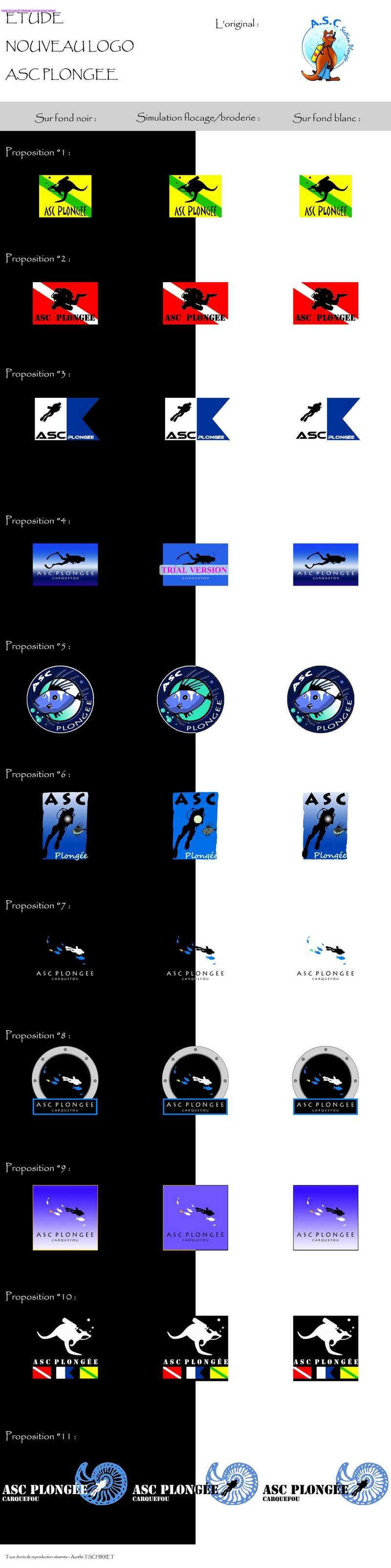 Un nouveau logo pour l'ASC Plongée :  LE GRAND VOTE Logo_a10
