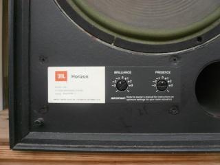 jbl l166 horizon speakers used sold. Black Bedroom Furniture Sets. Home Design Ideas