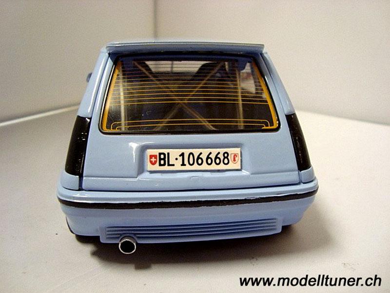 quelle que modelle de tuning sur des miniature une 206 RC Renaul11