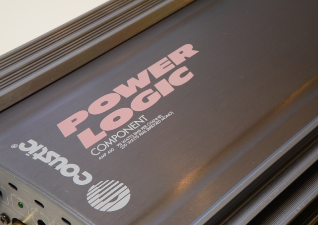 Coustic Amp-460 Power Logic power amp (Used) _mg_2522