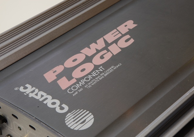 Coustic Amp-360 Power Logic power amp (Used) _mg_2528