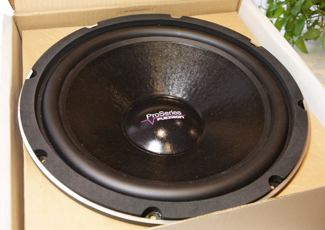 """Fultron ProSeries 9112 12"""" subwoofer (New) _mg_2621"""