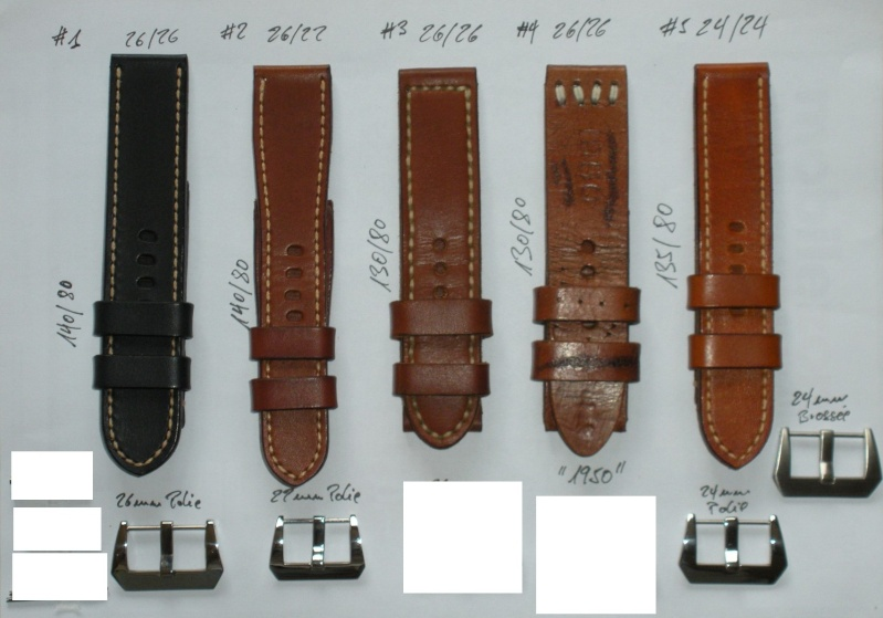 [VENDS] Bracelets cuir pour Panerai Straps11