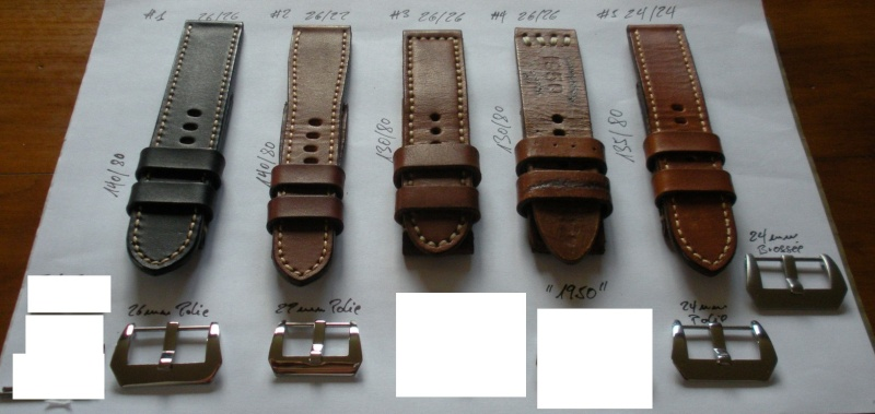 [VENDS] Bracelets cuir pour Panerai Straps15