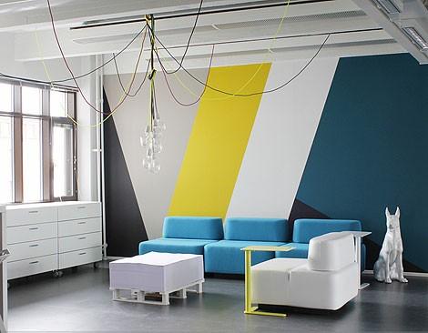 Comment décorer un couloir de placards intégrés Geomet12