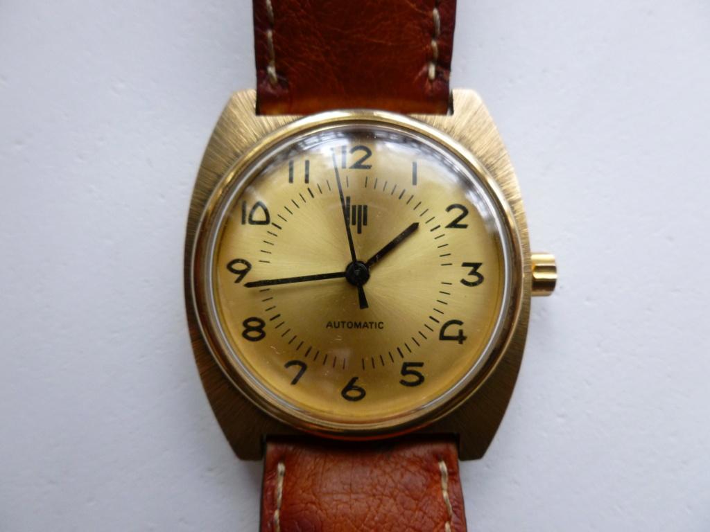 Présentation Lip à remontage automatique, mouvement utilisé également par des grandes marques de l'horlogerie Suisse Echang23