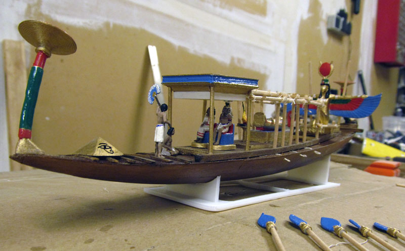 Barque pharaonique - 1/72 - Scratch et impression 3d 2018-149